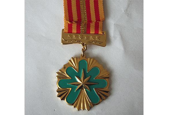 China glorious career medal-1