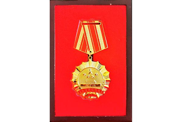 China glorious career medal2019